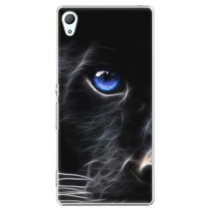 Plastové pouzdro iSaprio black Puma na mobil Sony Xperia Z3+ / Z4