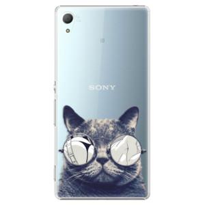 Plastové pouzdro iSaprio Šílená Číča 01 na mobil Sony Xperia Z3+ / Z4