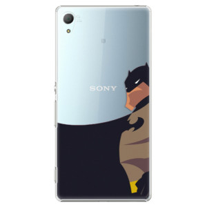 Plastové pouzdro iSaprio BaT Comics na mobil Sony Xperia Z3+ / Z4