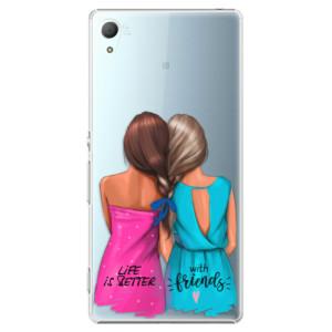 Plastové pouzdro iSaprio Best Friends na mobil Sony Xperia Z3+ / Z4