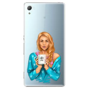 Plastové pouzdro iSaprio Coffee Now Zrzka na mobil Sony Xperia Z3+ / Z4