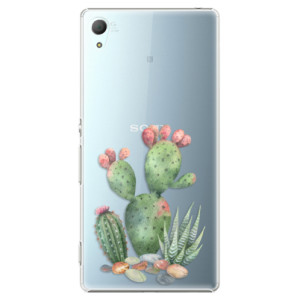 Plastové pouzdro iSaprio Kaktusy 01 na mobil Sony Xperia Z3+ / Z4