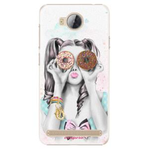 Plastové pouzdro iSaprio Donutky Očiska 10 na mobil Huawei Y3 II
