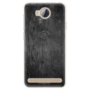 Plastové pouzdro iSaprio black Wood 13 na mobil Huawei Y3 II