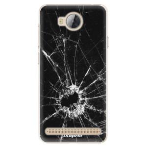 Plastové pouzdro iSaprio Broken Glass 10 na mobil Huawei Y3 II