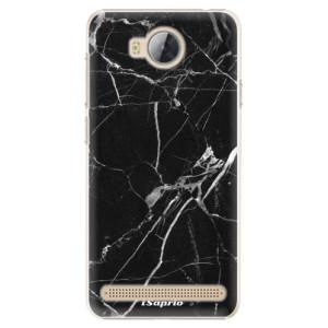 Plastové pouzdro iSaprio black Marble 18 na mobil Huawei Y3 II
