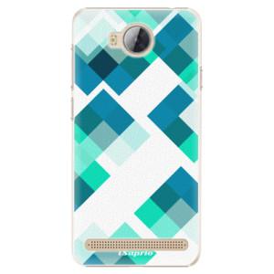 Plastové pouzdro iSaprio Abstract Squares 11 na mobil Huawei Y3 II