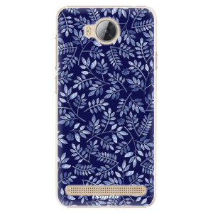 Plastové pouzdro iSaprio Blue Leaves 05 na mobil Huawei Y3 II