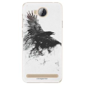 Plastové pouzdro iSaprio Havran 01 na mobil Huawei Y3 II