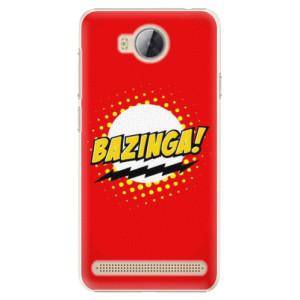 Plastové pouzdro iSaprio Bazinga 01 na mobil Huawei Y3 II