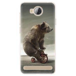 Plastové pouzdro iSaprio Bear 01 na mobil Huawei Y3 II