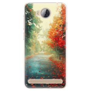 Plastové pouzdro iSaprio Autumn 03 na mobil Huawei Y3 II