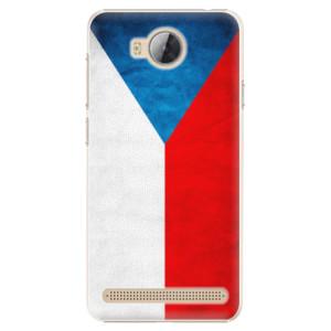 Plastové pouzdro iSaprio Česká Vlajka na mobil Huawei Y3 II