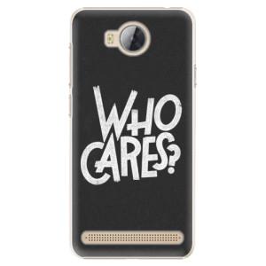 Plastové pouzdro iSaprio Who Cares na mobil Huawei Y3 II