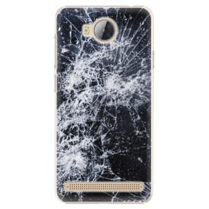 Plastové pouzdro iSaprio Praskliny na mobil Huawei Y3 II