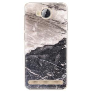 Plastové pouzdro iSaprio BW Marble na mobil Huawei Y3 II