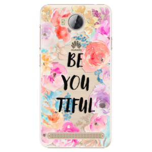 Plastové pouzdro iSaprio BeYouTiful na mobil Huawei Y3 II