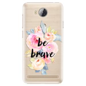 Plastové pouzdro iSaprio Be Brave na mobil Huawei Y3 II