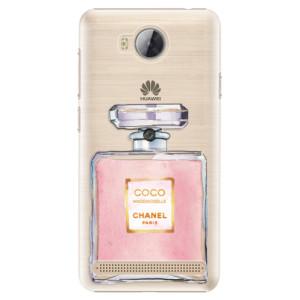 Plastové pouzdro iSaprio Chanel Rose na mobil Huawei Y3 II