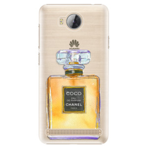 Plastové pouzdro iSaprio Chanel Gold na mobil Huawei Y3 II
