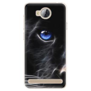 Plastové pouzdro iSaprio black Puma na mobil Huawei Y3 II