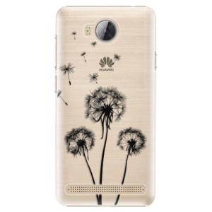 Plastové pouzdro iSaprio Tři Černé Pampelišky na mobil Huawei Y3 II