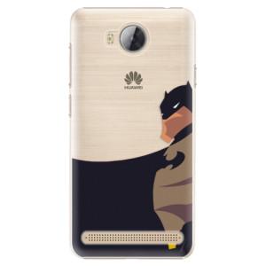 Plastové pouzdro iSaprio BaT Comics na mobil Huawei Y3 II