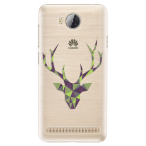 Plastové pouzdro iSaprio Zelený Jelínek na mobil Huawei Y3 II