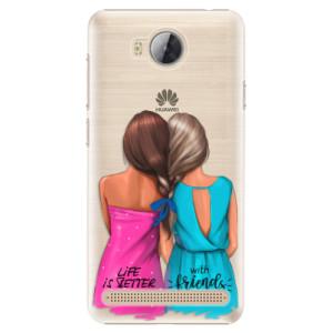 Plastové pouzdro iSaprio Best Friends na mobil Huawei Y3 II