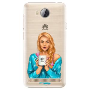 Plastové pouzdro iSaprio Coffee Now Zrzka na mobil Huawei Y3 II