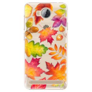 Plastové pouzdro iSaprio Autumn Leaves 01 na mobil Huawei Y3 II