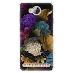 Plastové pouzdro iSaprio Temné Květy na mobil Huawei Y3 II