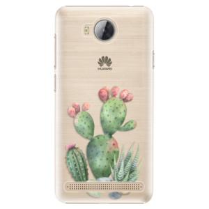 Plastové pouzdro iSaprio Kaktusy 01 na mobil Huawei Y3 II