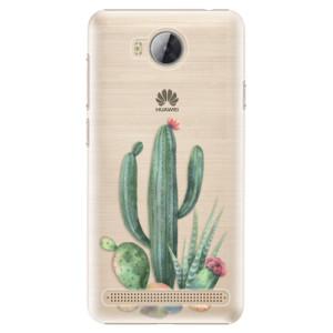 Plastové pouzdro iSaprio Kaktusy 02 na mobil Huawei Y3 II