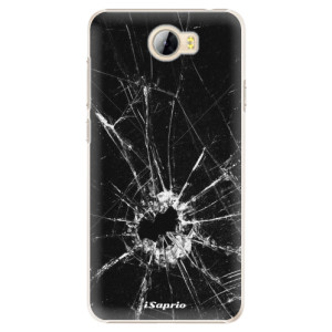 Plastové pouzdro iSaprio Broken Glass 10 na mobil Huawei Y5 II / Y6 II Compact