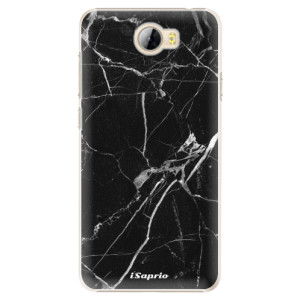 Plastové pouzdro iSaprio black Marble 18 na mobil Huawei Y5 II / Y6 II Compact