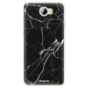 Plastové pouzdro iSaprio black Marble 18 na mobil Huawei Y5 II / Y6 II Compact