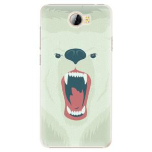 Plastové pouzdro iSaprio Angry Bear na mobil Huawei Y5 II / Y6 II Compact