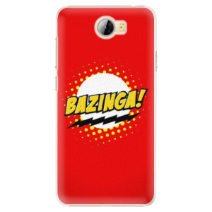 Plastové pouzdro iSaprio Bazinga 01 na mobil Huawei Y5 II / Y6 II Compact