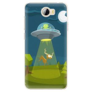 Plastové pouzdro iSaprio Alien 01 na mobil Huawei Y5 II / Y6 II Compact