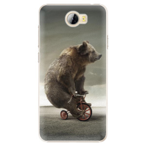 Plastové pouzdro iSaprio Bear 01 na mobil Huawei Y5 II / Y6 II Compact