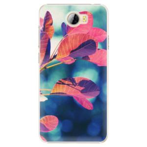 Plastové pouzdro iSaprio Autumn 01 na mobil Huawei Y5 II / Y6 II Compact