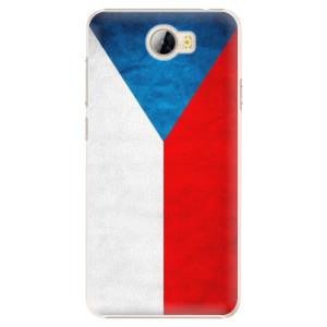 Plastové pouzdro iSaprio Česká Vlajka na mobil Huawei Y5 II / Y6 II Compact