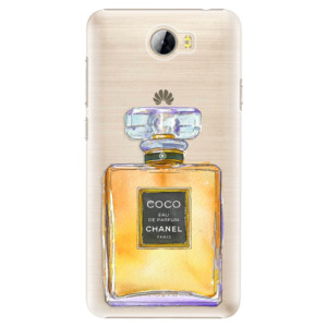 Plastové pouzdro iSaprio Chanel Gold na mobil Huawei Y5 II / Y6 II Compact