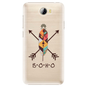 Plastové pouzdro iSaprio BOHO na mobil Huawei Y5 II / Y6 II Compact