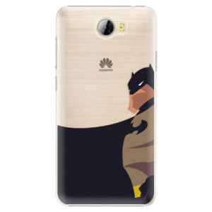 Plastové pouzdro iSaprio BaT Comics na mobil Huawei Y5 II / Y6 II Compact