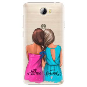 Plastové pouzdro iSaprio Best Friends na mobil Huawei Y5 II / Y6 II Compact