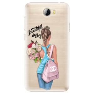 Plastové pouzdro iSaprio Beautiful Day na mobil Huawei Y5 II / Y6 II Compact