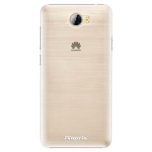 Plastové pouzdro iSaprio 4Pure mléčné bez potisku na mobil Huawei Y5 II / Y6 II Compact