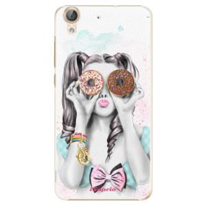 Plastové pouzdro iSaprio Donutky Očiska 10 na mobil Huawei Y6 II